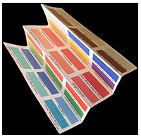 Spring Fan Folded Palette