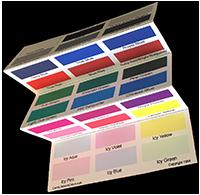 Winter Fan Folded Palette